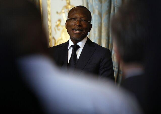 Le Président du Bénin Patrice Talon