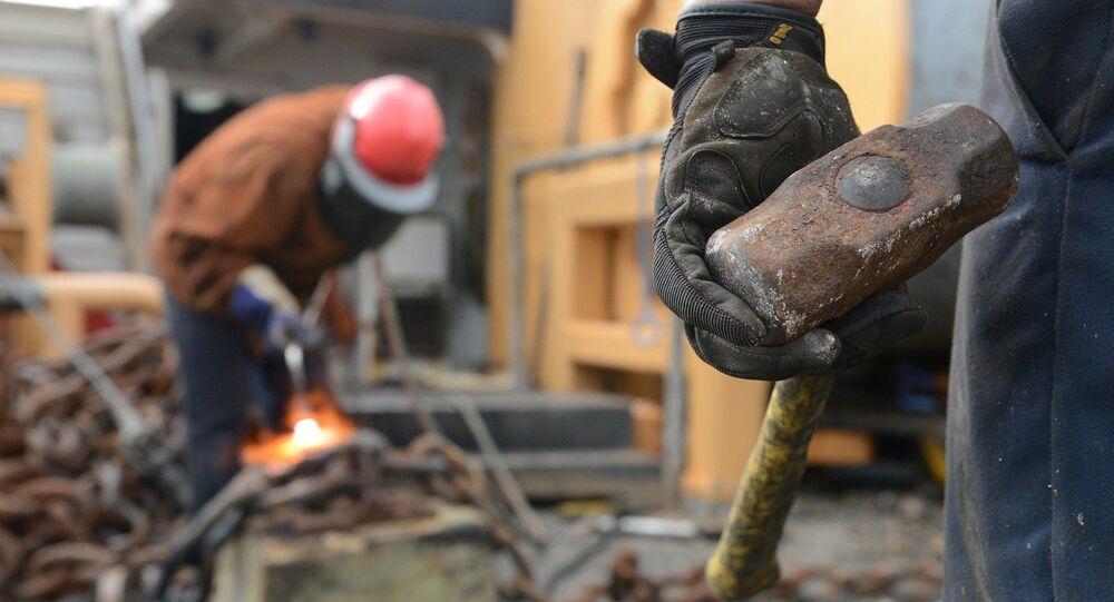 Des ouvriers (image d'illustration)