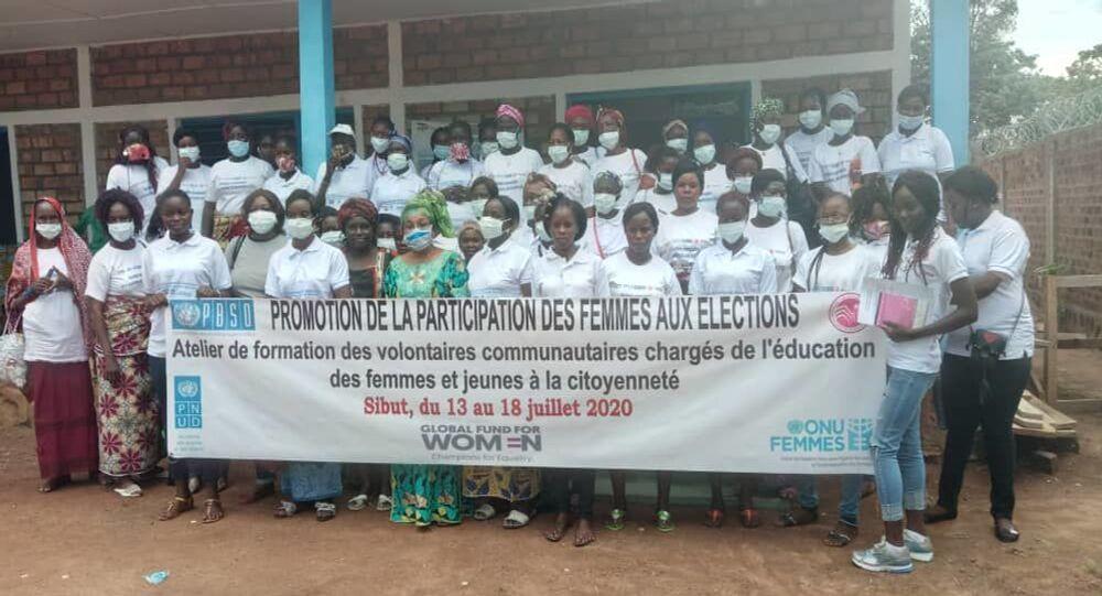 Le réseau pour le leadership de la Femme en Centrafrique