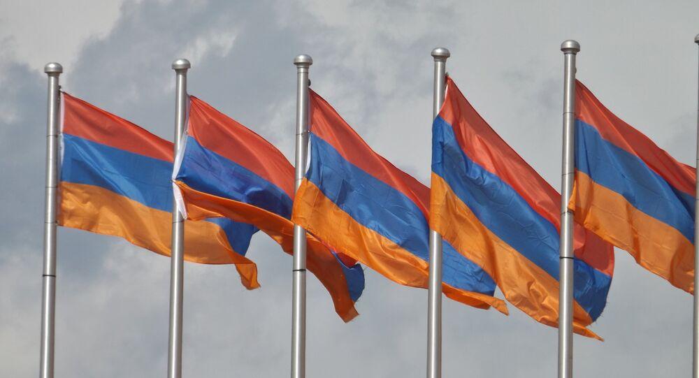 drapeaux arméniens