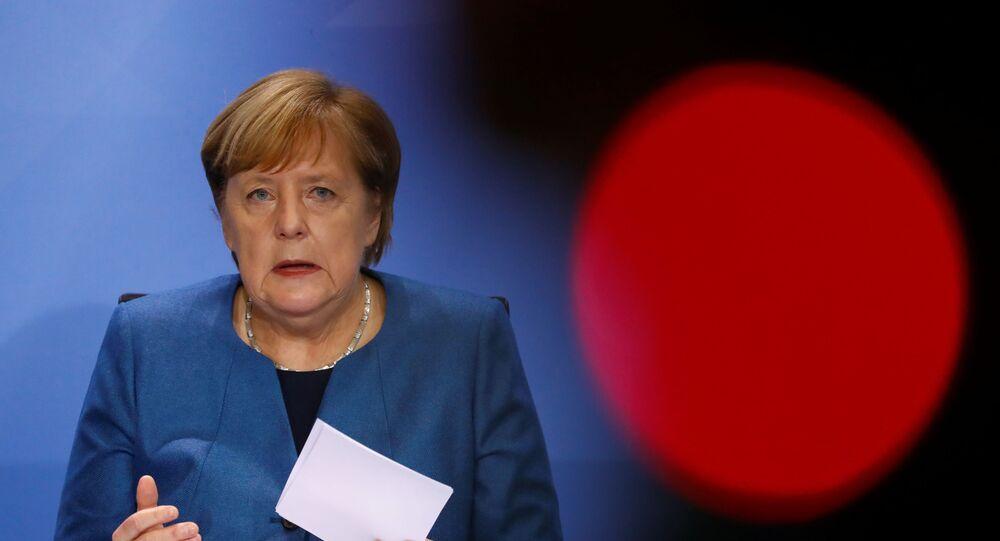 Kanzlerin Angela Merkel hält Pressekonferenz am 28. Oktober ab