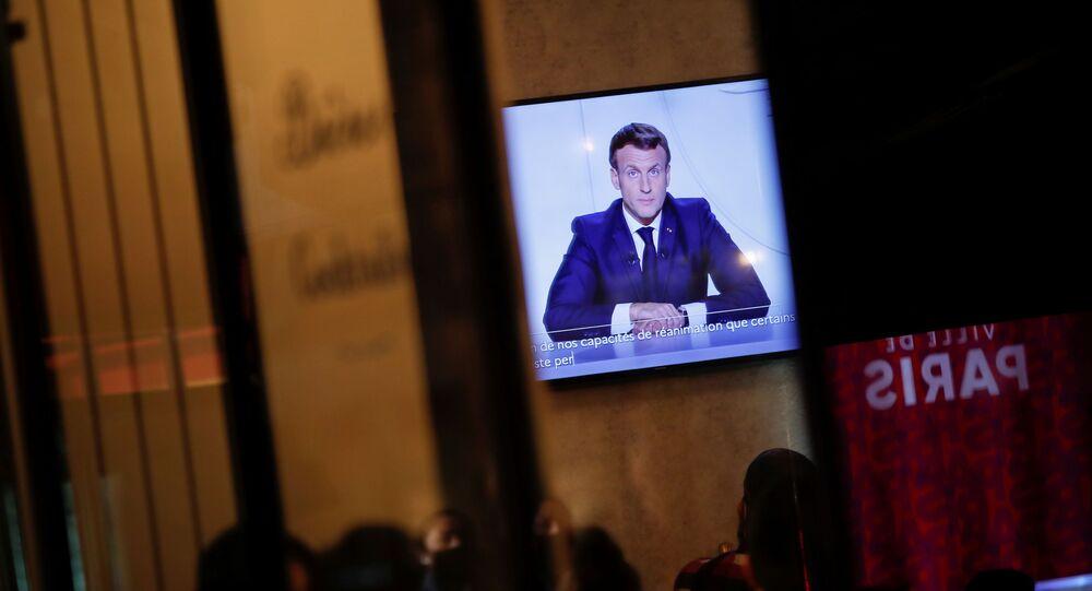 Emmanuel Macron s'adresse aux Français pour annoncer de nouvelles mesures
