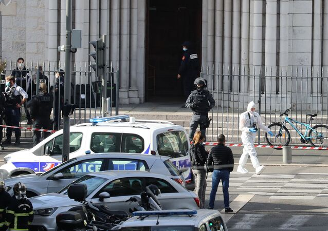 L'attaque au couteau à la basilique Notre-Dame de Nice, le 29 octobre