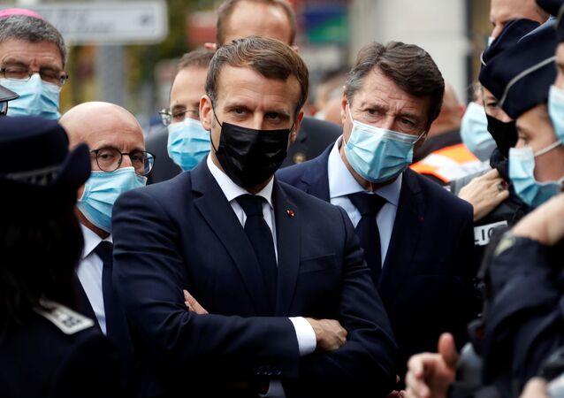 Emmanuel Macron et Christian Estrosi
