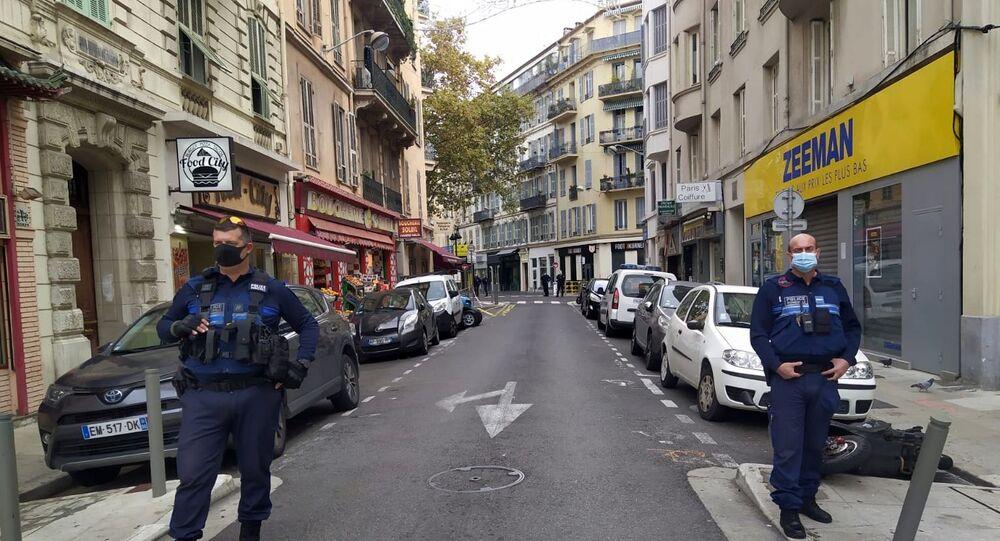 Situation à Nice