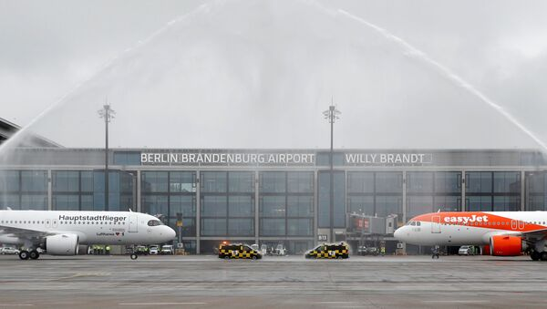 Inauguration de l'aéroport Willy Brandt de Berlin-Brandebourg - Sputnik France