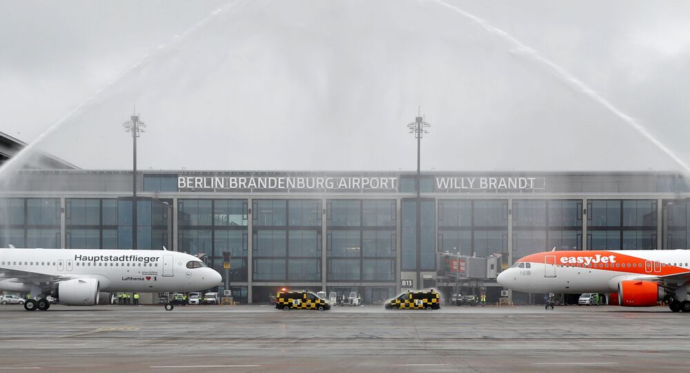 Inauguration de l'aéroport Willy Brandt de Berlin-Brandebourg