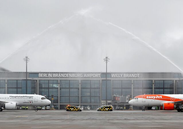 Inauguration de l'aéroport Willy Brandt de Berlin-Brandebourg