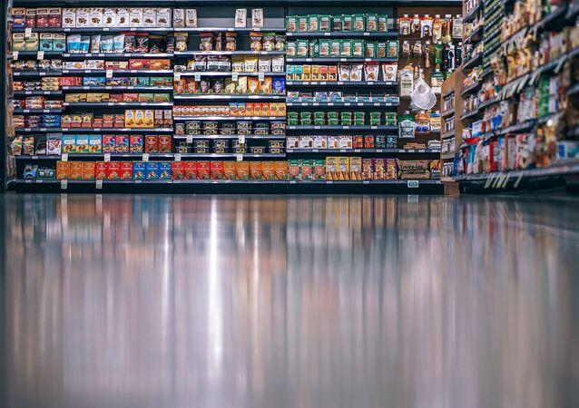 Supermarché, image d'illustration