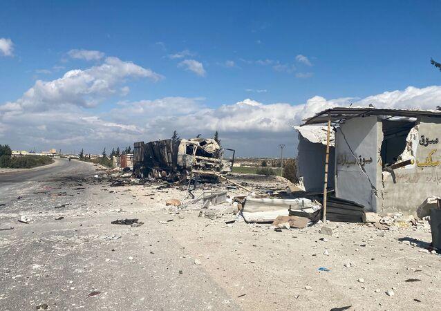 La province syrienne d'Idlib (février 2020)