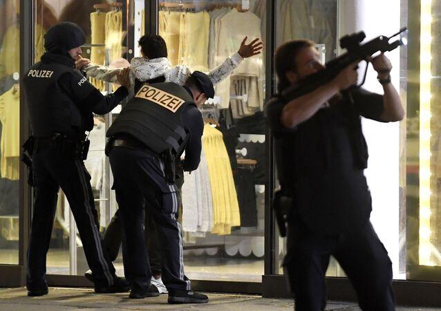 Vienne ciblée par des terroristes armés