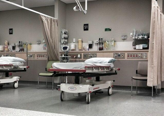 Lits d'hôpital