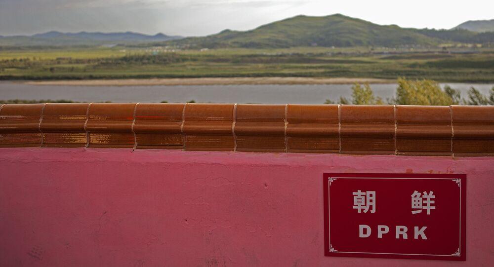 La Corée du Nord vue depuis le territoire chinois (archive photo)