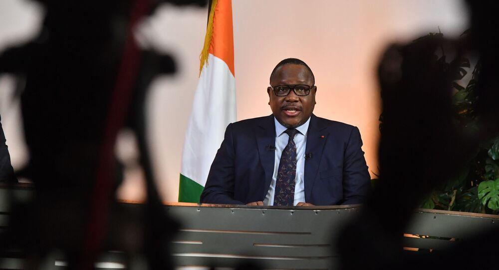 Ibrahim Kuibiert Coulibaly, le président de la Commission électorale indépendante ivoirienne