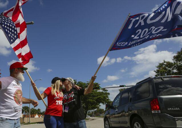 Les partisans de Donald Trump en Floride