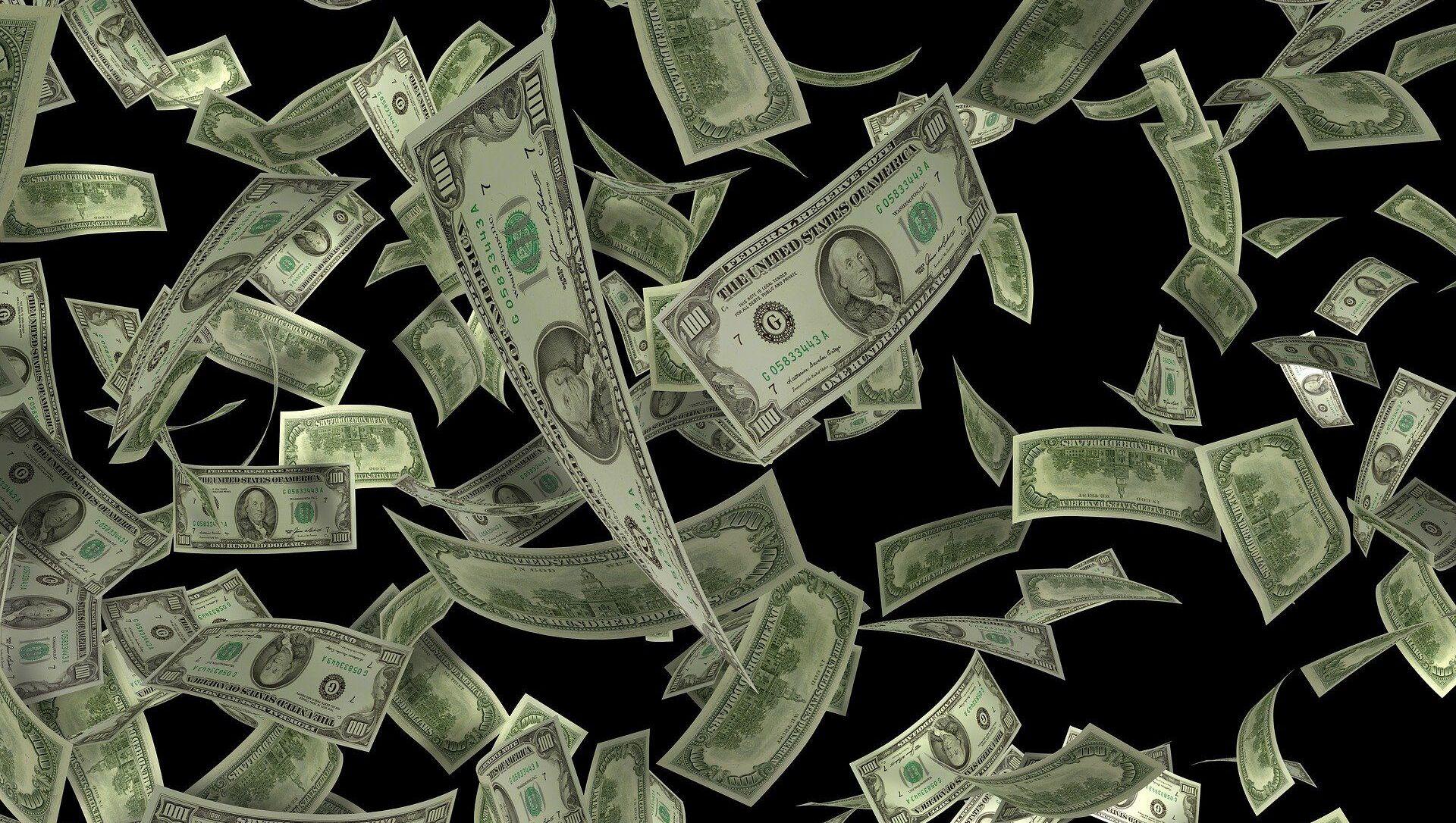 Des dollars américains - Sputnik France, 1920, 27.08.2021