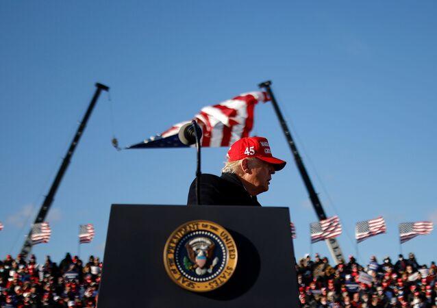 Donald Trump en Pennsylvanie, le 2 novembre