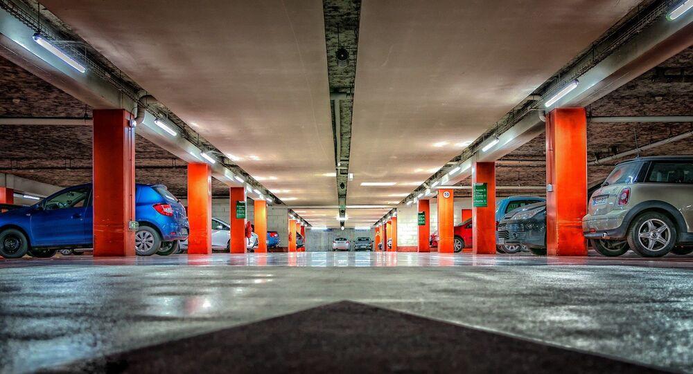 un parking, image d'illustration