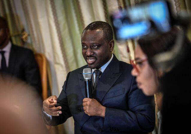 Guillaume Soro, un des leaders de l'opposition ivorienne