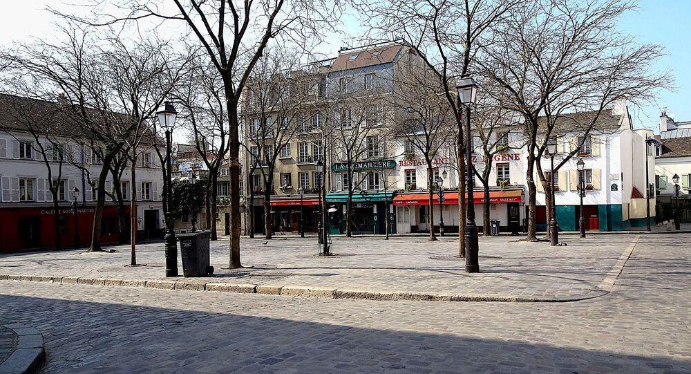 A Paris lors du confinement