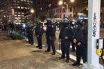 Des manifestations à Manhattan