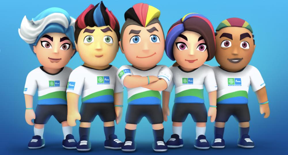 Le programme social international pour enfants de PAO «Football pour l'amitié», lance un jeu Football for Friendship World, simulation de football multijoueur