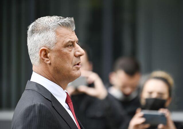 Hashim Thaci, Président de la république autoproclamée du Kosovo