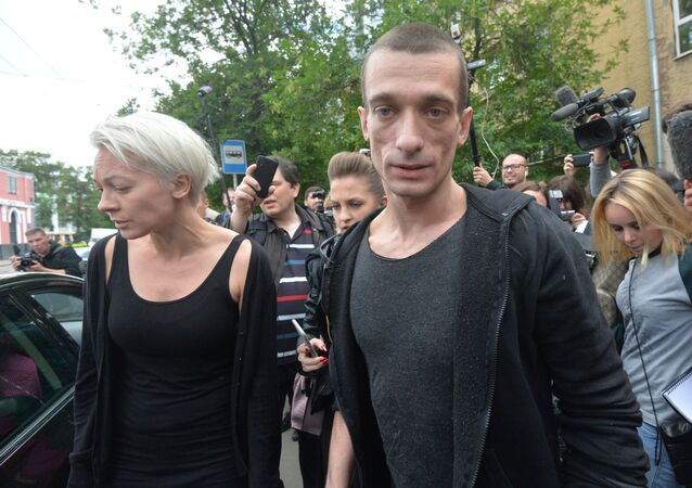 Oksana Chalyguina et Piotr Pavlenski, archives