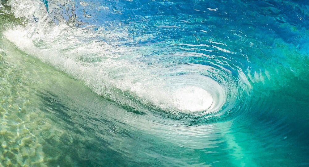 Une vague (image d'illustration)