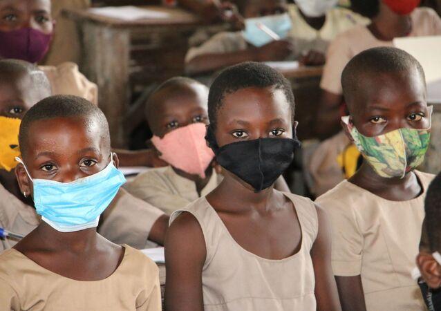 Des élèves d'une école au Togo