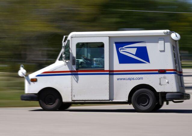 camion postal de l'USPS (image d'illustration)