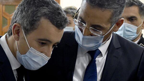 Taoufik Charfeddine et Gérald Darmanin, Tunisie - Sputnik France