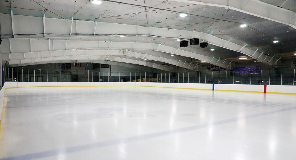 Une patinoire