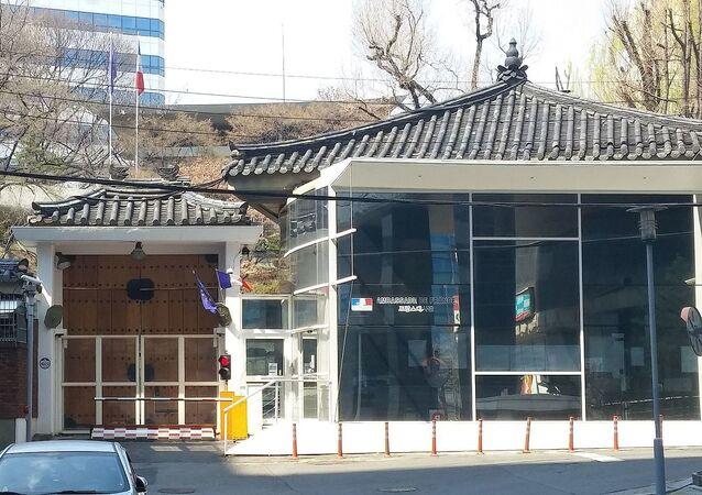 L'ambassade de France en Corée du Sud