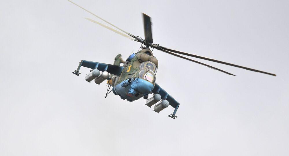 Un hélicoptère Mi-24 (archive photo)