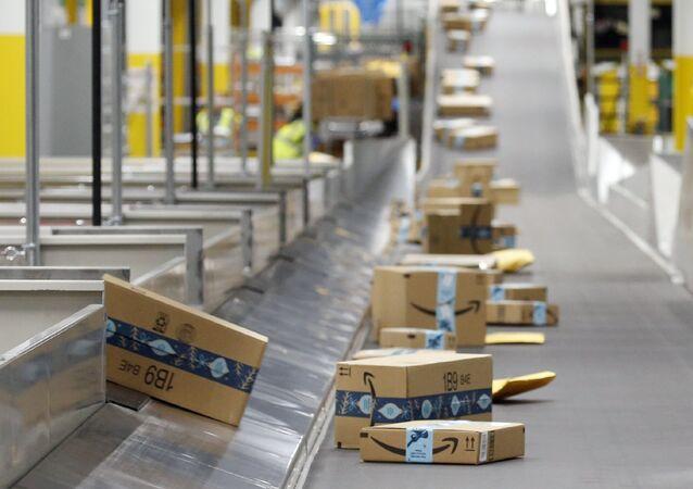 Boîtes d'Amazon