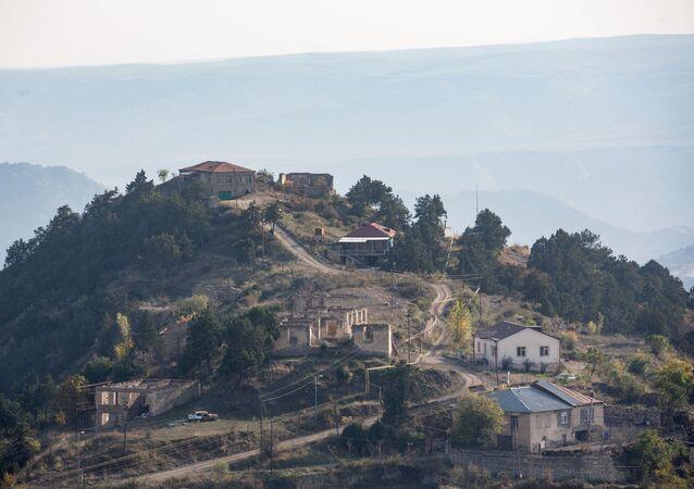 La ville de Berdzor, au Haut-Karabakh (archive photo)