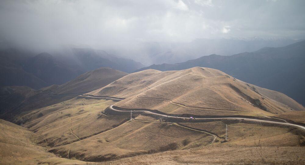 Le couloir Kelbajar, une route reliant Stepanakert, la République autoproclamée du Haut-Karabakh, à Erevan, en Arménie.