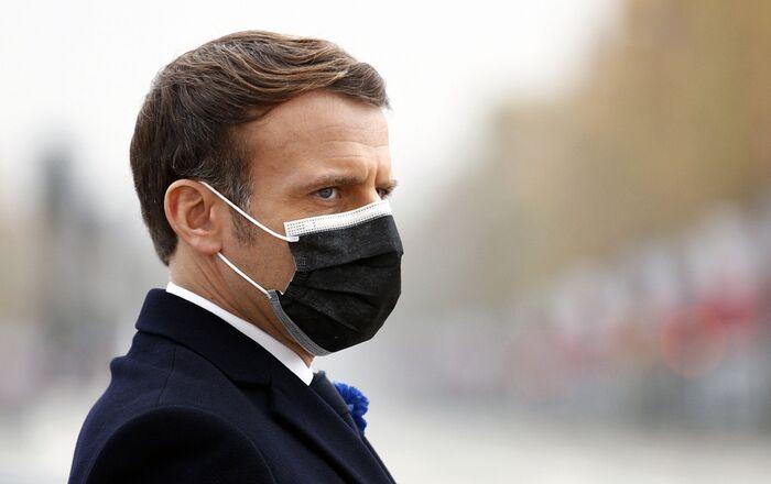 Emmanuel Macron, le 11 novembre 2020