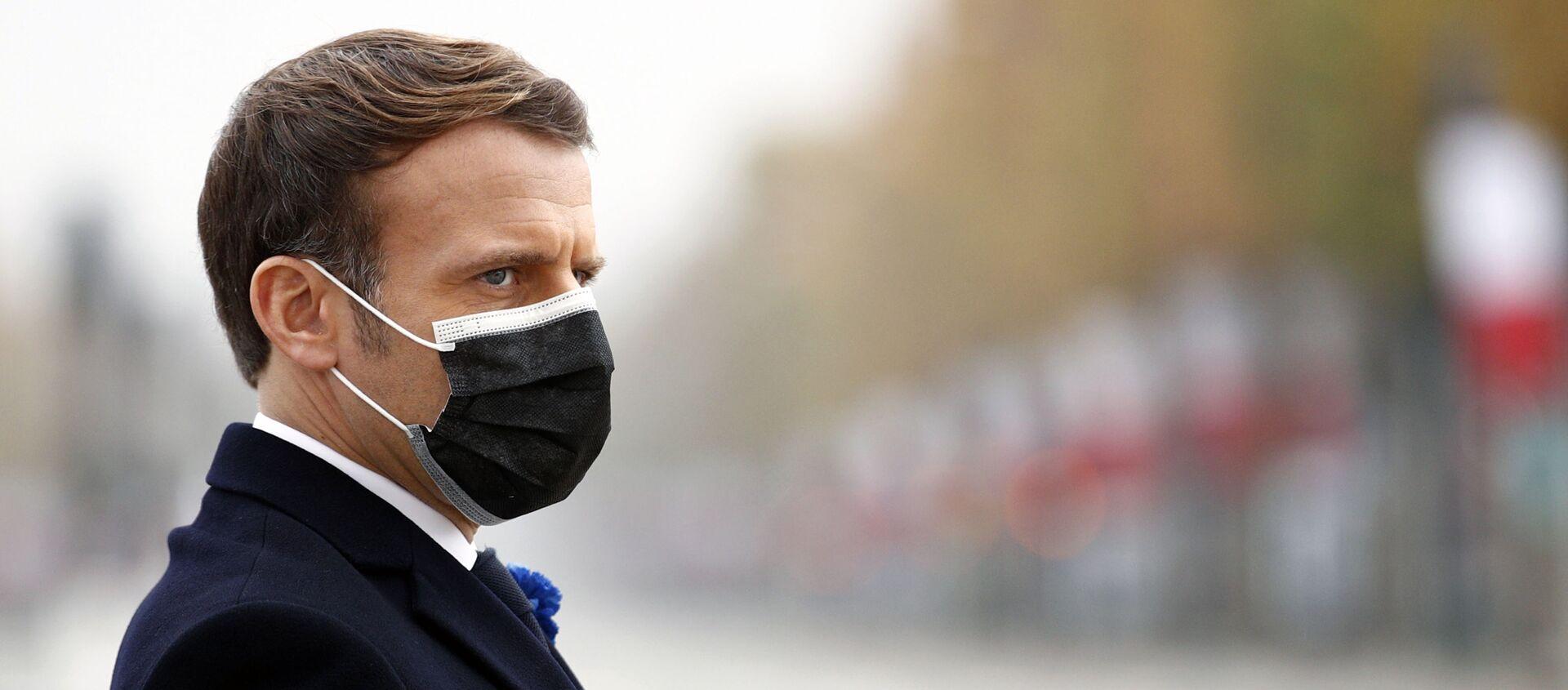 Emmanuel Macron - Sputnik France, 1920, 16.12.2020