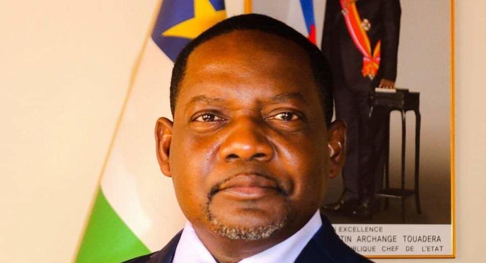 Firmin Ngrebada, Premier ministre de la République Centrafricaine