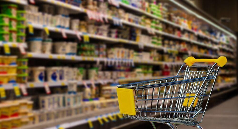 Un supermarché, image d'illustration