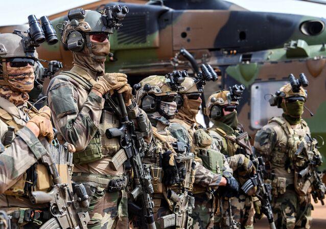 Militaires français au Mali, en 2019