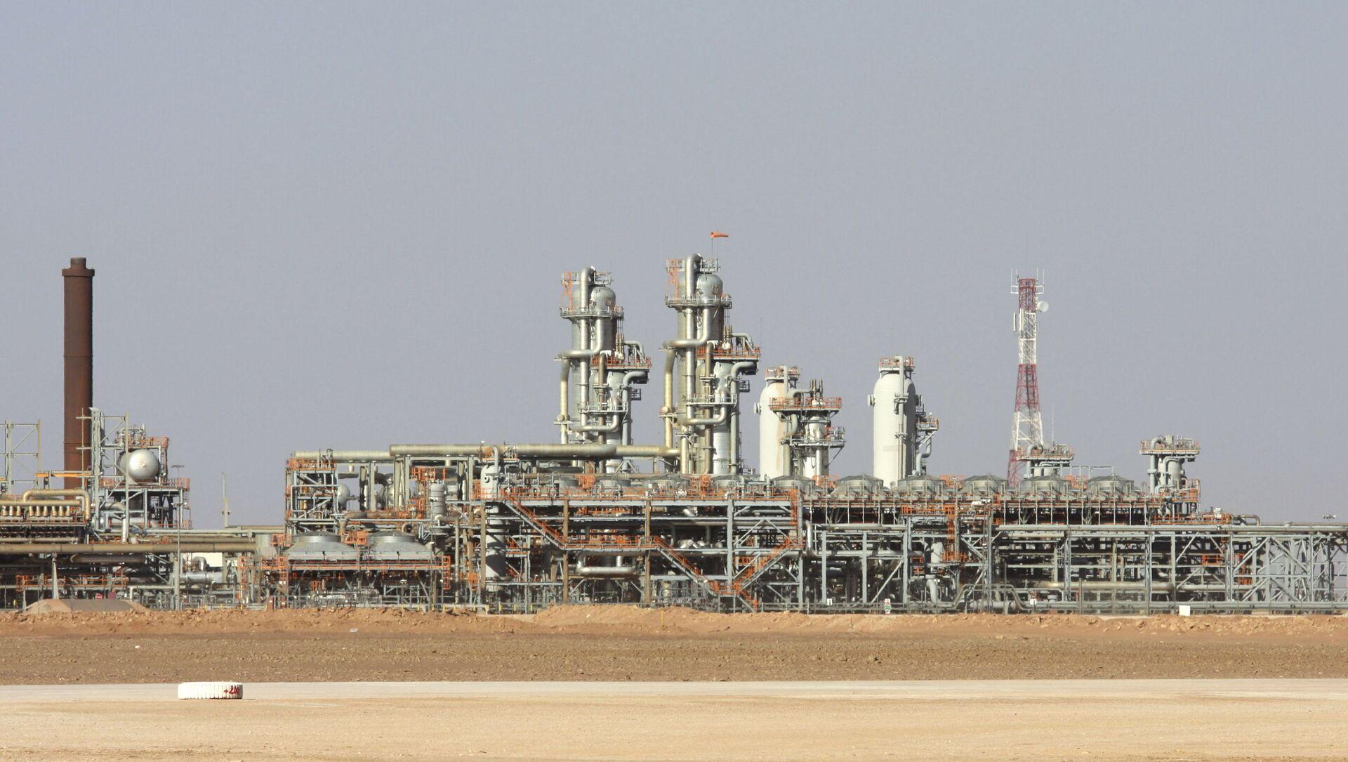L'usine à gaz de Krechba, dans le Sahara algérien - Sputnik France, 1920, 20.08.2021