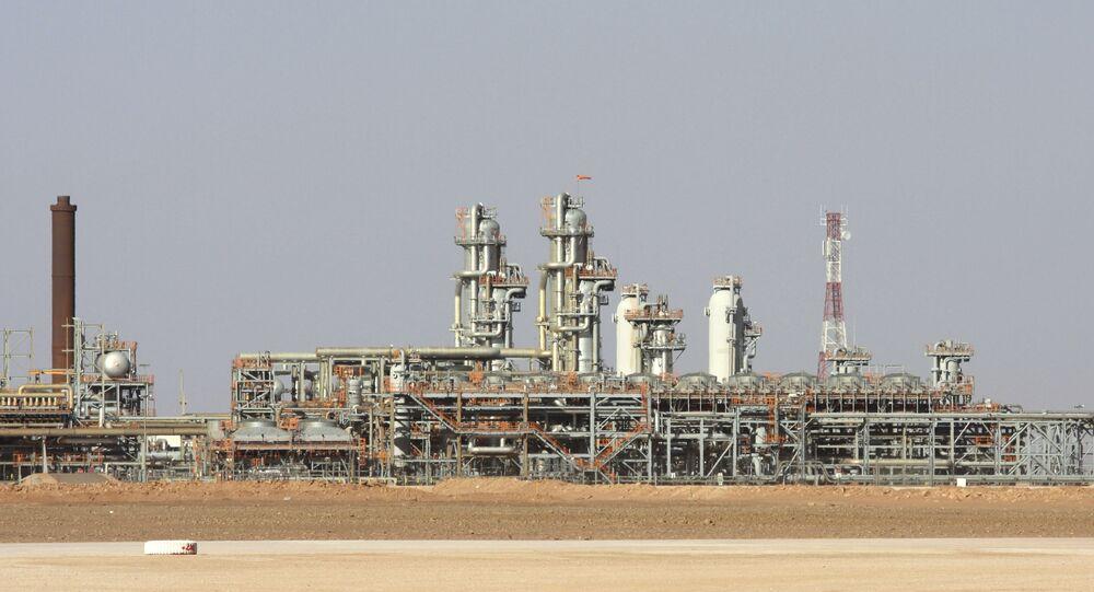 L'usine à gaz de Krechba, dans le Sahara algérien