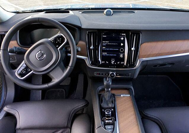 Habitacle d'une Volvo