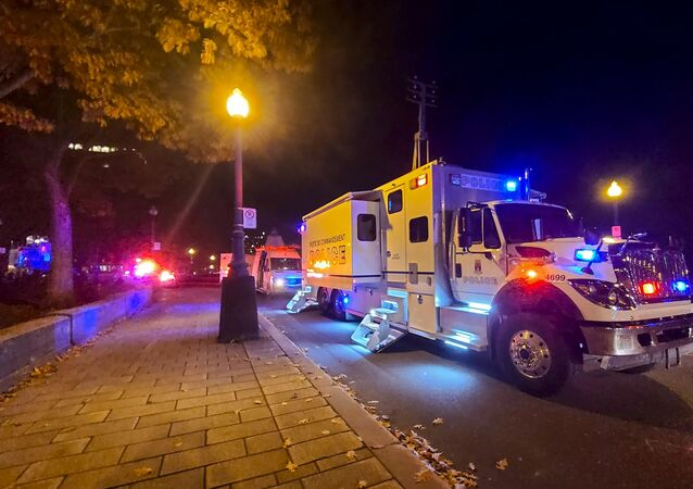 Attaque au sabre, la nuit du 31 octobre au 1 novembre à Québec