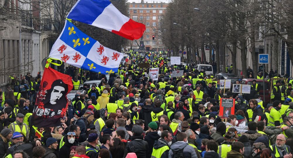 Gilets jaunes à Lille (photo d'archives)