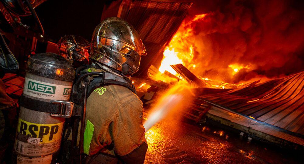Pompier français