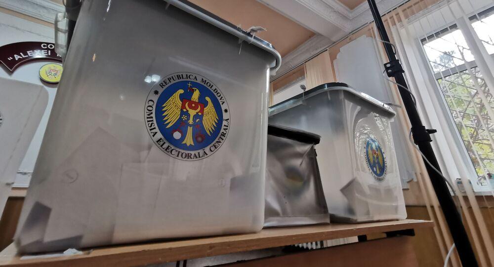second tour de l'élection présidentielle en Moldavie